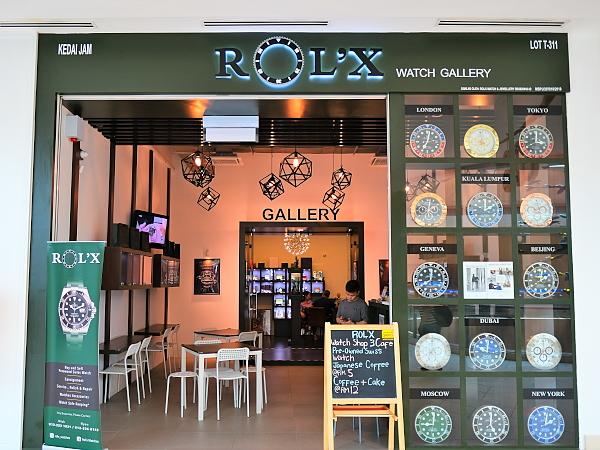 1 2 - 高級時計のギャラリー・カフェ「Rol'x Watch Gallery」